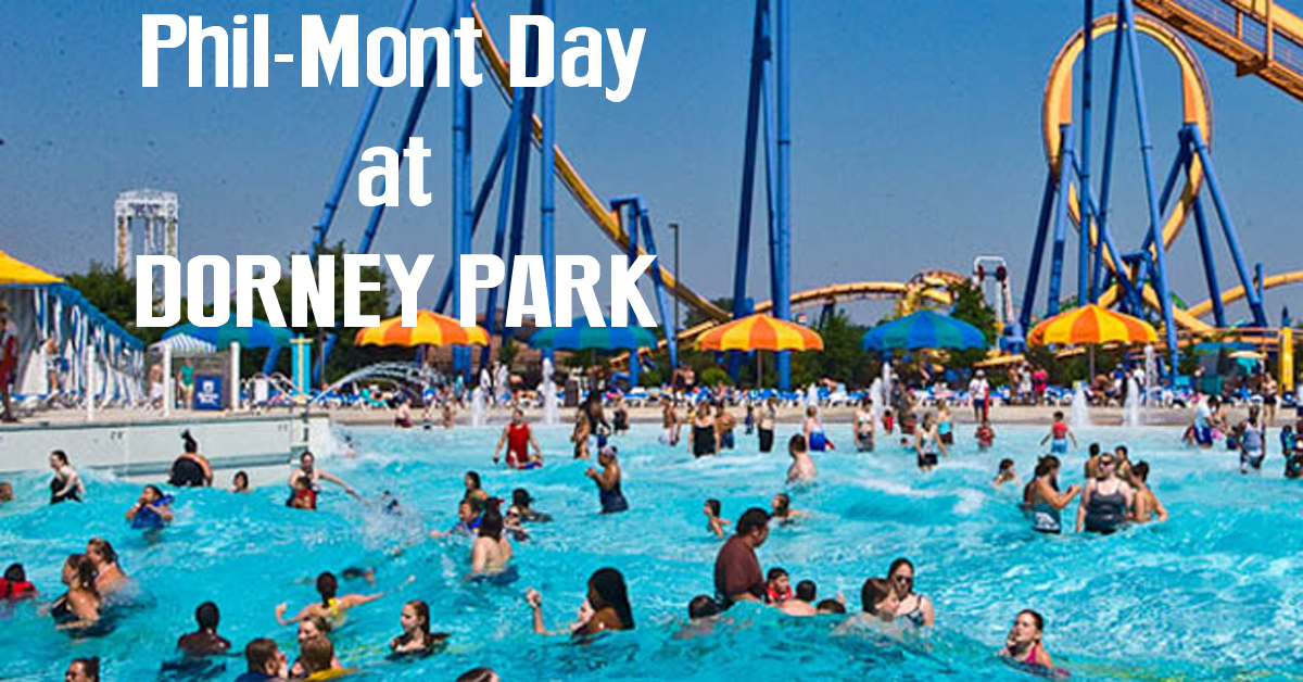 Dorney Park will be closed today due to the impending weather. The park will reopen as scheduled tomorrow.