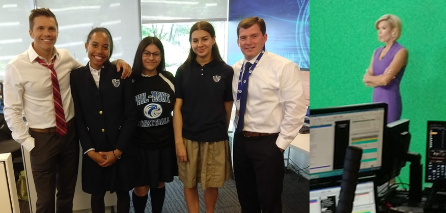 Meteorology Students Visit 6ABC - Phil-Mont Christian Academy