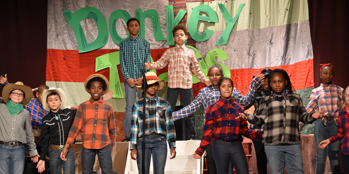 Elementary Musical: Donkey Tales - Image Gallery - Phil-Mont